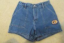 Vintage Women's Disney Mickey Mouse Unlimited Blue Jean Shorts Size 9/10
