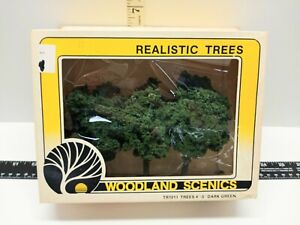 Vintage Woodland Scenics TR1011 1995 Four inch 5 inch Trees TR1011 NOS
