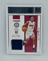 2019-20 Panini Encased FOTL KZ Okpala Rookie Jersey Patch SP 51/199 RC Heat