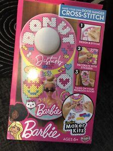 Barbie Keep Out Door Sign Maker Craft Set