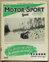 MOTOR SPORT Magazine March 1947 RACING AUSTIN SEVEN 40/50 Napier Road Tested