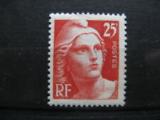 FRANCE neuf n° 729 MARIANNE DE GANDON  25 F orange gravé