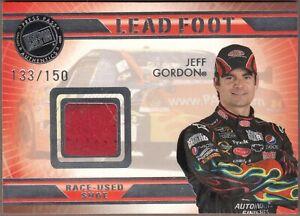 RARE 2009 VIP JEFF GORDON Lead Foot Race-Used SHOE LFJG; SN# 133/150 WOW!