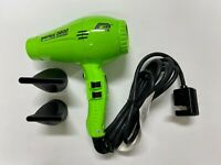 PARLUX 3800 GREEN Hair Dryer Ceramic & Ionic Super Compact Hairdryer