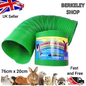 Foldable Flexible Rabbit Tunnel Toy Pet Warren Tube Funny Play Guinea Pig