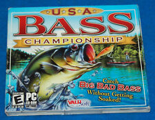 USA Bass Championship PC CD Game (2003), New & Factory Sealed