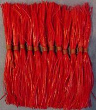 12 Big Strike Silicone Spinnerbait Skirts Guntersville Texas Red on Red #12ROR