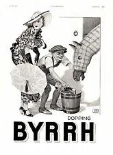 ▬► Publicité Advertising Ad - BYRRH - Georges LÉONNEC - Dopping Écurie  - 1933