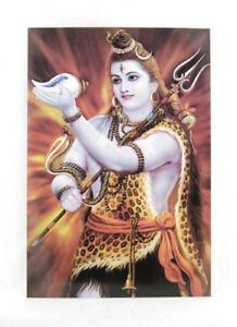 Postcard Shiva Lucky Charm Hinduism India