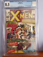 X-Men #9 CGC 8.5 1st Meeting Avengers, Lucifer