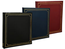 Deluxe Large Self Adhesive Photo Album Hold Various Sized Photos 48 Pages