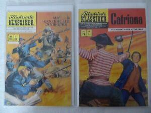 ILLUSTRIERTE KLASSIKER BSV Verlag Nummer 205 und 70 in 1.Auflage
