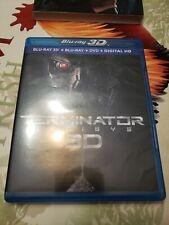 TERMINATOR GENISYS 3D Blu-ray 3D + Blu-ray + DVD bonus lenticular slip