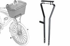 NEW ADIE BIKE BASKET METAL SUPPORT FRAME FOR WIRE OR WICKER BASKETS BLACK