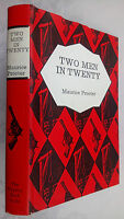 MAURICE PROCTER.TWO MEN IN TWENTY.H/B 1965 *UNREAD* THE MYSTERY BOOK GUILD