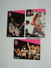 (3) Pc. Ted Nugent Pro Set Cards Lot 1st Edition Super Stars MusiCards Mint