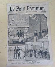 Le petit parisien 1890 49 L'influenza à Paris