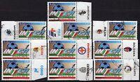 #2046 - Repubblica - 10 pezzi Scudetto all'Inter con appendice, 1989 - Usati