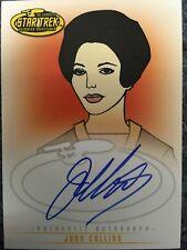 Star Trek Animated Adventures Joan Collins Edith Keeler autograph auto card A14