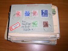Alliierte Besetzungen - Posten Belege ca. 175 Stück