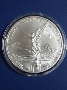 2015 - 2oz BU MEXICAN LIBERTAD in Air-Tight Capsule▪.999 Fine Silver