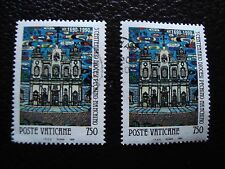 VATICAN - timbre yvert et tellier n° 883 x2 obl (A28) stamp