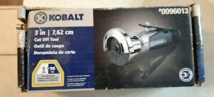 Kobalt Cut Off Tool Adjustable 4 Position 360 Rotatable Sheet Metal Composite