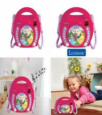 Lexibook Disney Princess Rapunzel CD player for kids with 2 toy microphones,...