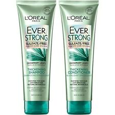 L'OREAL PARIS EVERSTRONG THICKENING SULFATE FREE SHAMPOO AND CONDITIONER 8.5Oz
