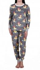 NEW PJ SALVAGE Thermal Pajamas Ski Jammies Rubber Duck Size XL Cozy XMAS GIFT