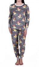 NEW PJ SALVAGE Thermal Pajamas Ski Jammies Rubber Duck Size XL Cozy XMAS GIFT