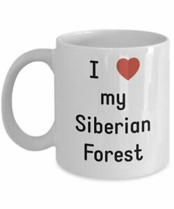 Funny Cat Lovers Siberian Forest Coffee Mug