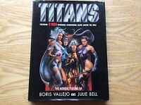 Titans, The Heroic Visions Of Boris Vallejo And Julie Bell Book! Feat Spiderman