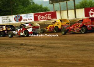 Frank Cozze, Ken Brenn & Jack Johnson at Flemington Fair Speedway Photo