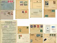 Poland Postage Cover Stamp Collection Occupational Semi Postal Airmail FDC