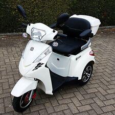 Elektromobil Seniorenmobil Dreirad Elektro Roller, Elektrorollstuhl S1000 weiß