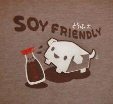 SOY FRIENDLY - Men's size L - Graphic T-Shirt