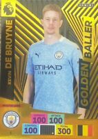 PANINI ADRENALYN XL PREMIER LEAGUE 2020/21 KEVIN DE BRUYNE GOLDEN BALLER CARD