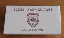 ancien tampon porte buvard école d agriculture charlemagne a carcassonne