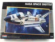 NASA Space Shuttle Columbia Challenger OPEN BOX COMPLETE Monogram 1:72 5904