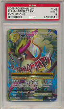 Pokemon PSA 9 XY Evolutions Full Art Holo Rare M Pidgeot EX 105/108 *MINT A