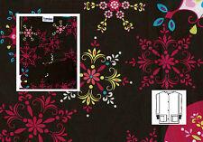 NEW ~ Landau Print Scrub Warm Up Jacket ~ 4X ~ 7525 ~ ORNS ~ Christmas / Winter