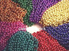 "NEW 72 MARDI GRAS BEADS FAMILY REUNION 33"" NECKLACES PRINCESS PIRATE PARTY 6 DOZ"