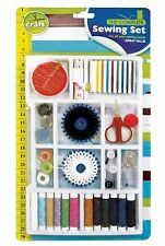 SEWING SET ACCESSORY KIT SET WITH THREADS,NEEDLES,SCISSORS,MEASURING TAPE ETC