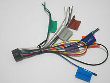 kenwood car audio and video wire harness
