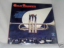 Great Trumpets Classic Jazz to Swing 1988 Sealed LP