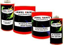 2k Paint Acrylic Car Paint & Primer 4 lt kit Direct Gloss Ford Frozen White