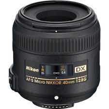 Nikon NIKKOR AF-S DX Micro 40mm f/2.8G Lens