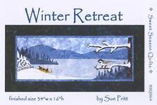 Winter Retreat Snow Chickadee Sue Pritt Sweet Season Quilt Pattern SSQ064