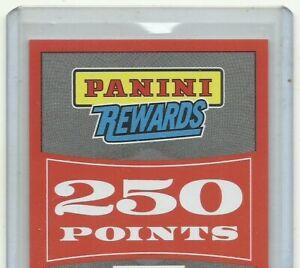 Panini Rewards 250 Points Redemption